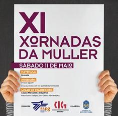 Presentación do Trivial Feminista nas XI Xornadas da Muller en Pontevedra