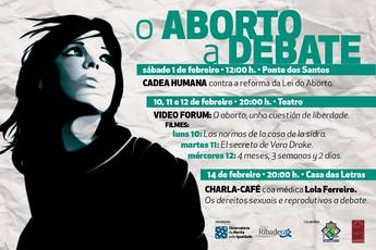 Actos reivindicativos e informativos: o aborto a debate