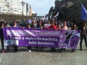 O feminismo galego en pé polos dereitos sexuais e reprodutivos das mulleres