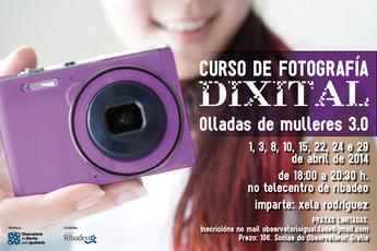 """Aberto o prazo de inscrición para o curso de fotografía dixital """"Olladas de mulleres 3.0"""""""
