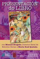 Presentación en Ribadeo do último libro de María Xosé Queizán, O solpor da cupletista