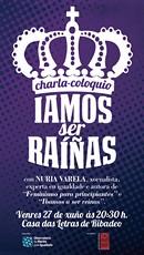 Íamos ser raiñas: charla-coloquio con Nuria Varela en Ribadeo!