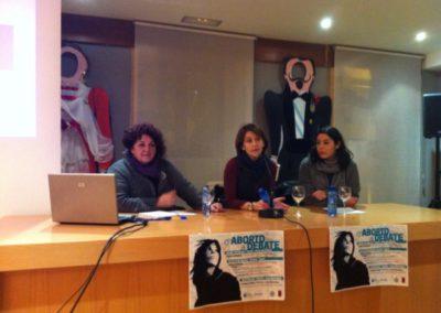 Charla-café Os dereitos sexuais e reprodutivos a debate, con Lola Ferreiro - Febreiro do 2014, Ribadeo-1
