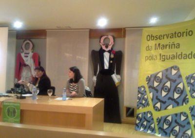 Charla informativa sobre a custodia compartida, coa avogada Victoria Carbajal - Marzo do 2014, Ribadeo