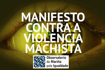 Manifesto do Observatorio da Mariña pola Igualdade con motivo do Día Internacional contra a Violencia Machista
